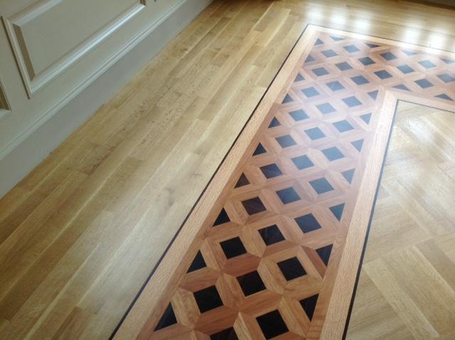塗装後の床表面